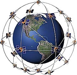 Satelliten des GPS-Systems